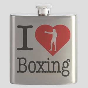 I-Heart-Boxing-Punch Flask