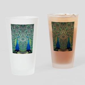 peacockflips Drinking Glass