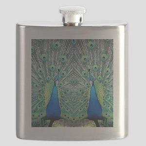 peacockflips Flask