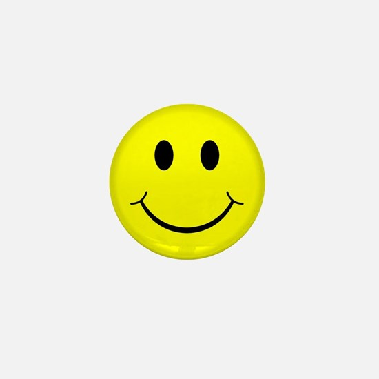 Classic Smiley Face Mini Button