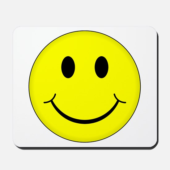 Classic Smiley Face Mousepad