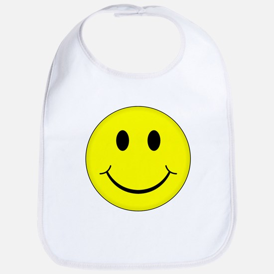 Classic Smiley Face Bib