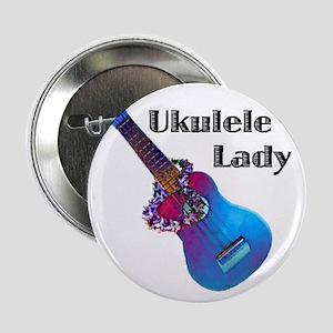 """ukulele_lady 2.25"""" Button"""