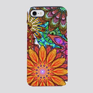 Funky Floral Pattern iPhone 7 Tough Case