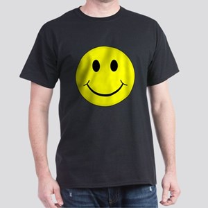 Classic Smiley Face Dark T-Shirt