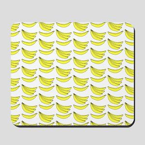 Yellow Bananas Pattern Mousepad