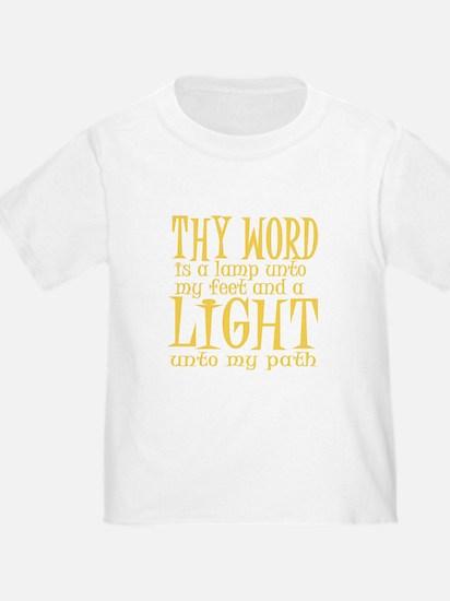 Psalm 119:105 T-Shirt