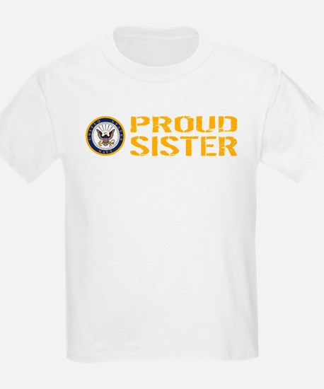 U.S. Navy: Proud Sister T-Shirt