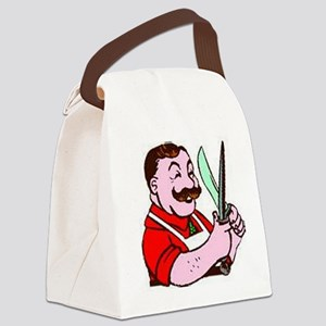 willtravel2 Canvas Lunch Bag