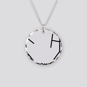 df Necklace Circle Charm