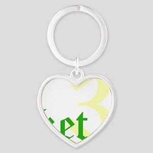 2011 - 3NeutralKetT12X12 Heart Keychain