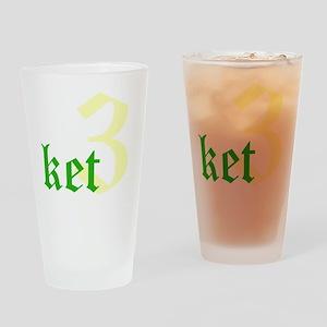 2011 - 3NeutralKetT12X12 Drinking Glass