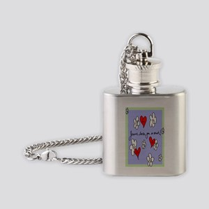 Jesus Loves You_Loves Me_So Much 9x Flask Necklace