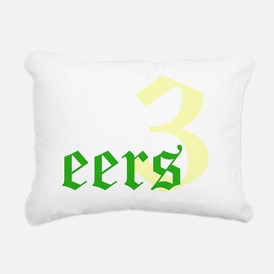 2011 - 3NeutraleersT12X1 Rectangular Canvas Pillow