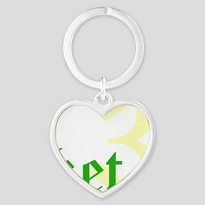 2011 - 3NeutralketW12X12 Heart Keychain