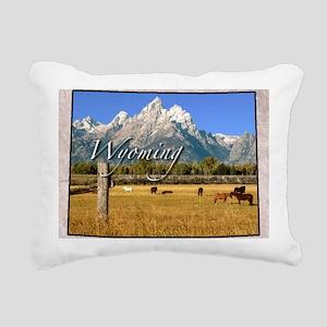 Wyoming Rectangular Canvas Pillow