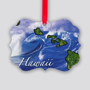 Hawaii Picture Ornament