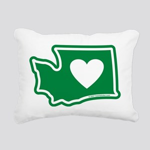 Washington_v5 Rectangular Canvas Pillow