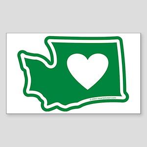 Washington_v5 Sticker (Rectangle)