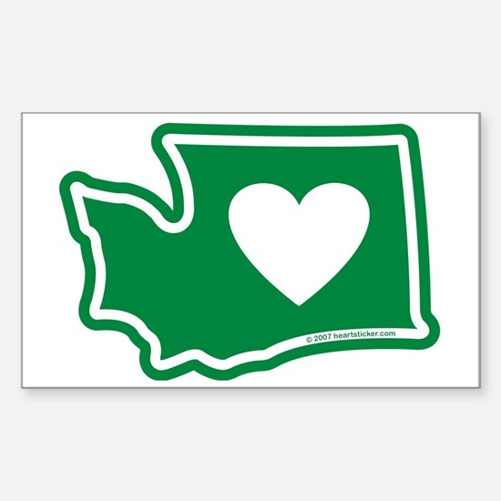 Washington_v5 Sticker (Rectangle)