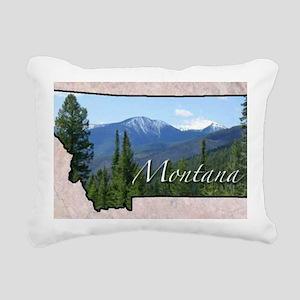 Montana Rectangular Canvas Pillow