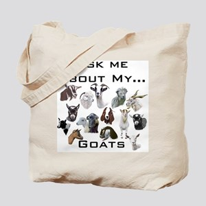 Goat Ask All Breed Tote Bag