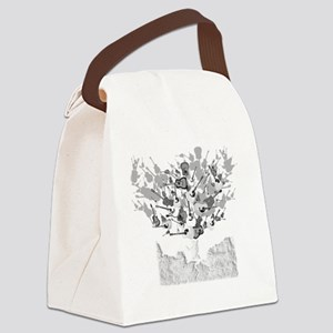 guitar tree white Canvas Lunch Bag