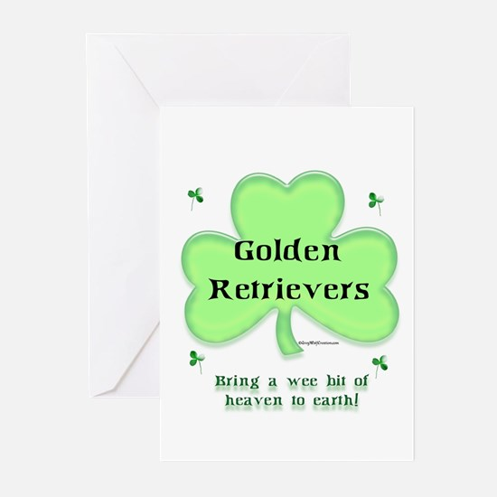 Golden Heaven Greeting Cards (Pk of 10)