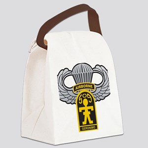 509thairbornewings Canvas Lunch Bag