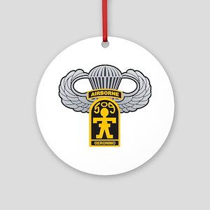 509thairbornewings Round Ornament