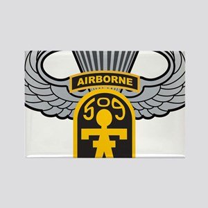 509thairbornewings Rectangle Magnet