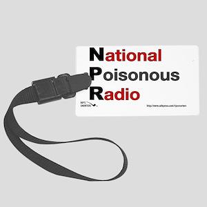 NPRadio Large Luggage Tag