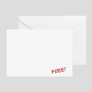 Price_List_Humor_dark Greeting Card