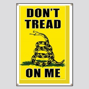 11x17 Dont Tread On Me Banner