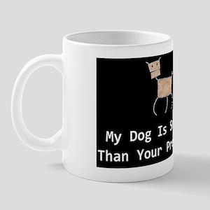 anti obama my dogdbutton Mug