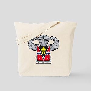 509thairbornewings2 Tote Bag