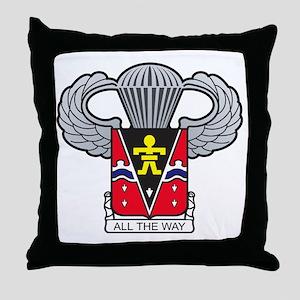509thairbornewings2 Throw Pillow