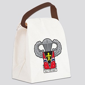 509thairbornewings2 Canvas Lunch Bag