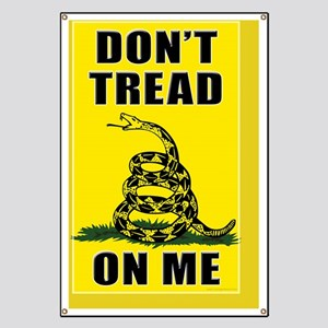 23x35 Dont Tread On Me Banner