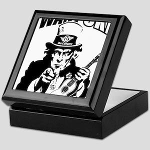I WANT UKE 2 Keepsake Box