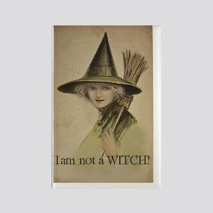 I am not a WITCH! Rectangle Magnet