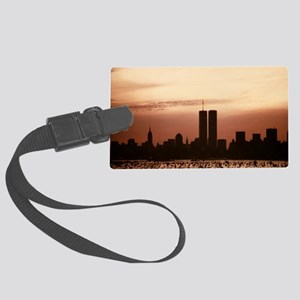 Dawn Over Liberty Large Luggage Tag