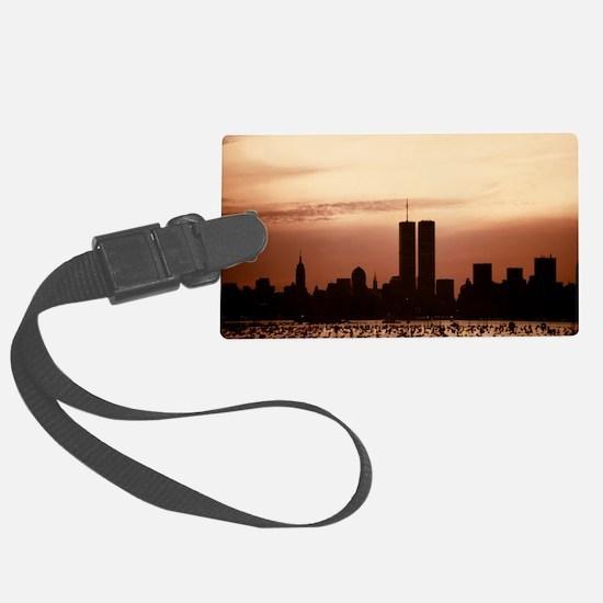 Dawn Over Liberty Luggage Tag