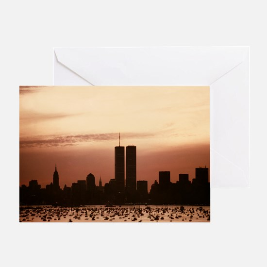 Dawn Over Liberty Greeting Card