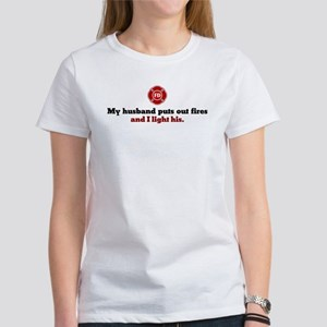 Firefighter Wife Women's T-Shirt