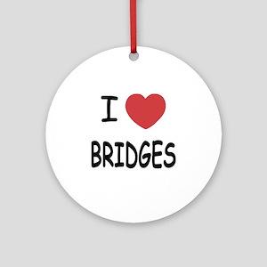 BRIDGES Round Ornament