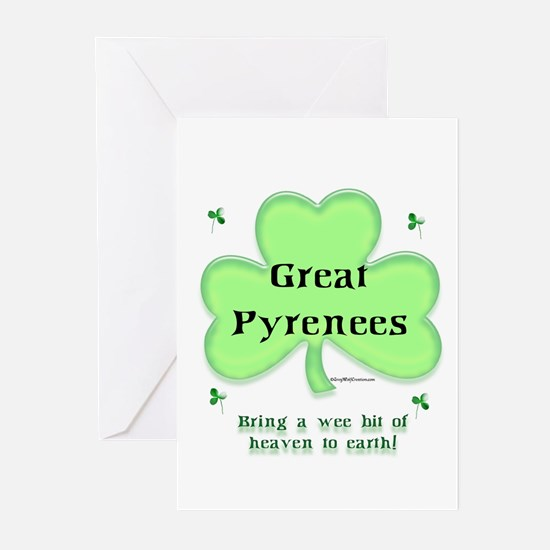 Pyrenees Heaven Greeting Cards (Pk of 10)