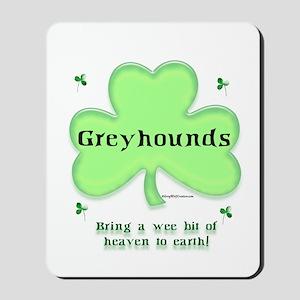 Greyhound Heaven Mousepad