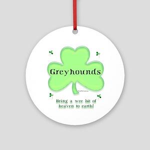 Greyhound Heaven Ornament (Round)