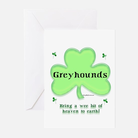 Greyhound Heaven Greeting Cards (Pk of 10)